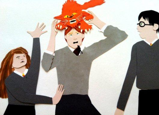 Prisoner of Azkaban Fan Art by Noelle Campbell