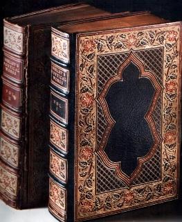 Restored volume along side its original